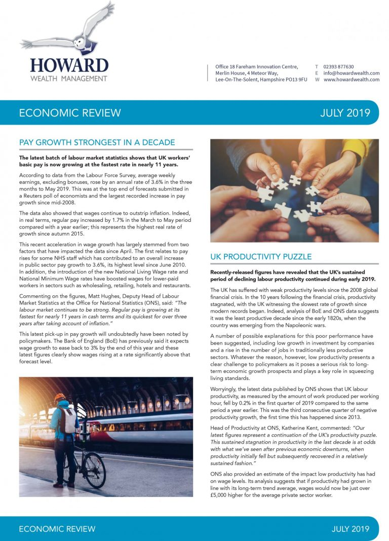 Economic Review July 2019