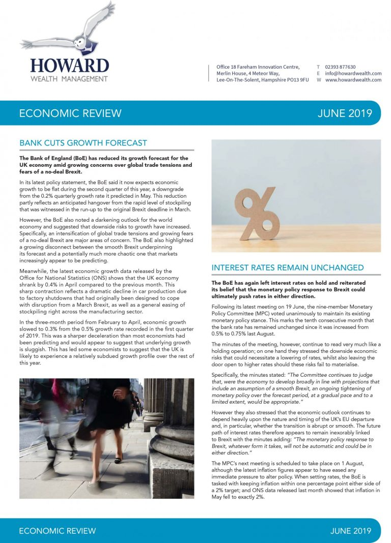 Economic Review June 2019