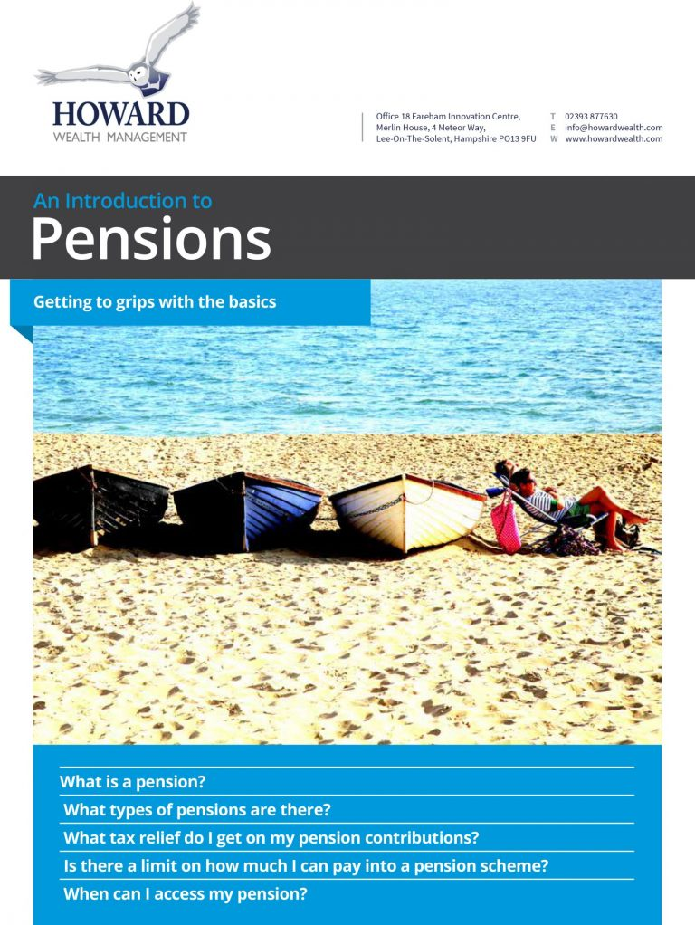 Introduction To Pensions