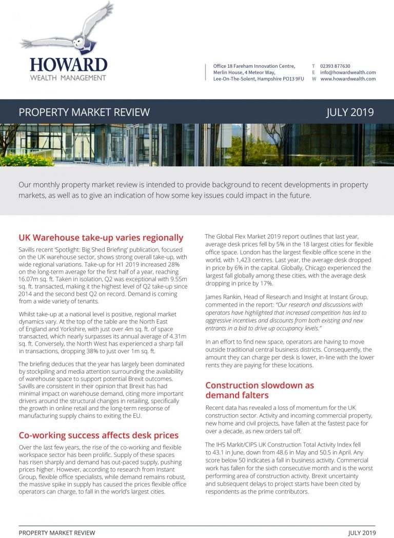 Property Market Review July 2019