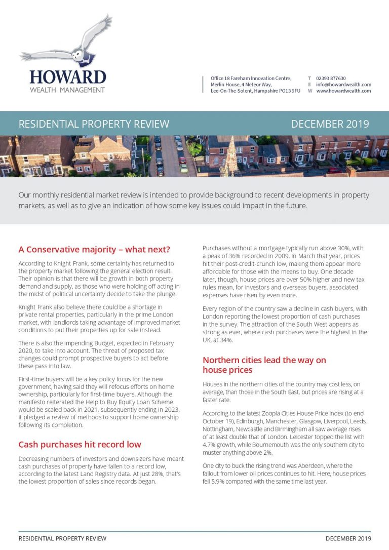 Residential Property Market Review December 2019 page 001