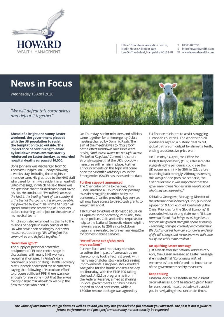 News in Focus 15th April 2020 page 001