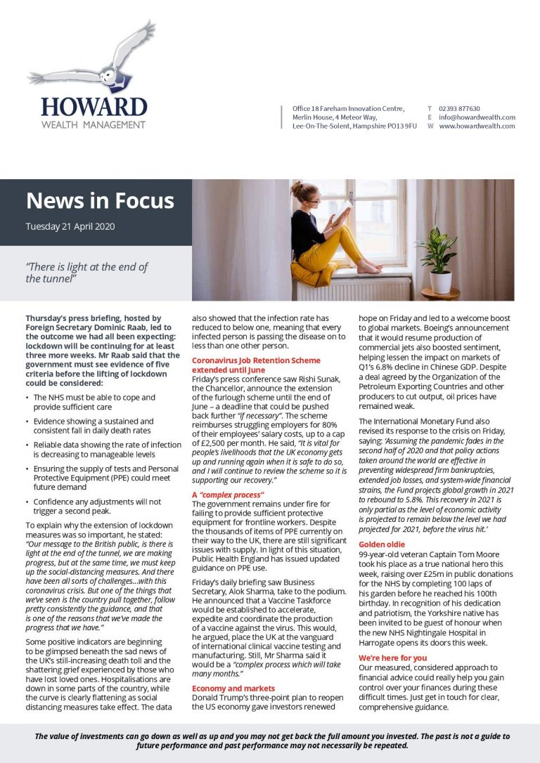 News in Focus 21st April 2020 page 001