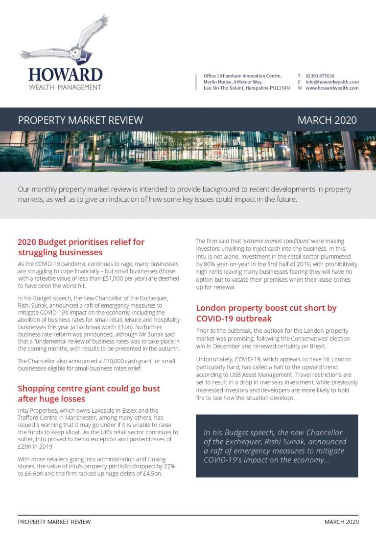 Property Market Reveiw March 2020 page 001