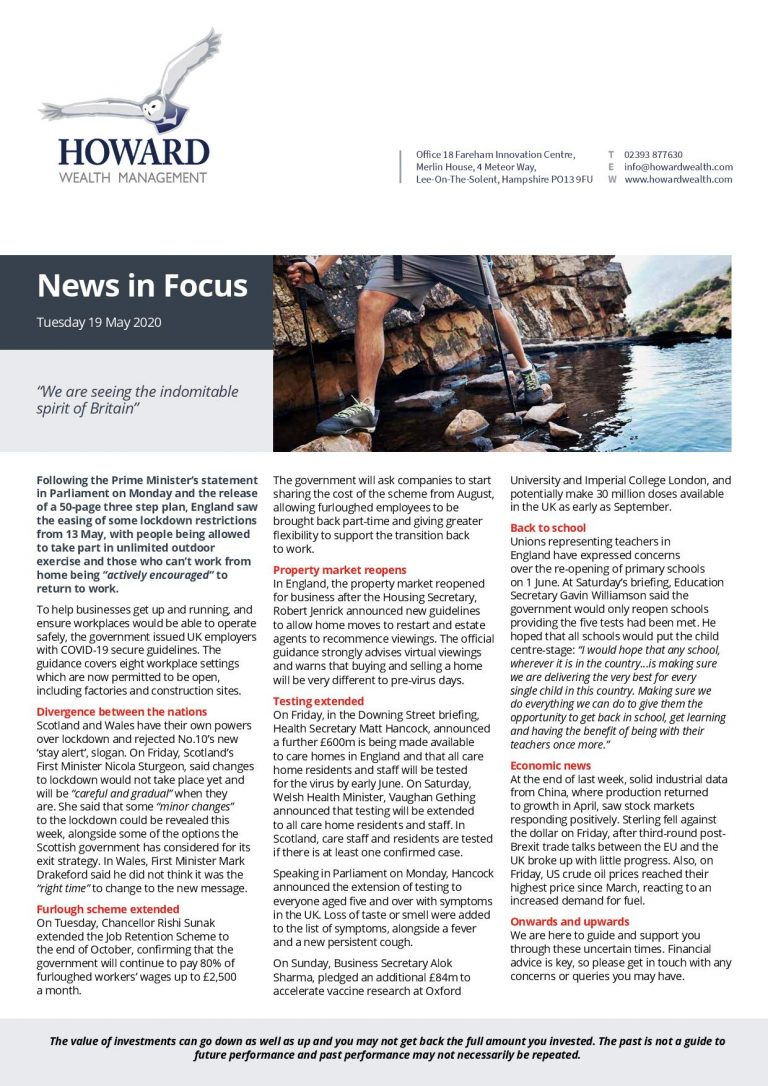 News in Focus 19th May 2020 page 001