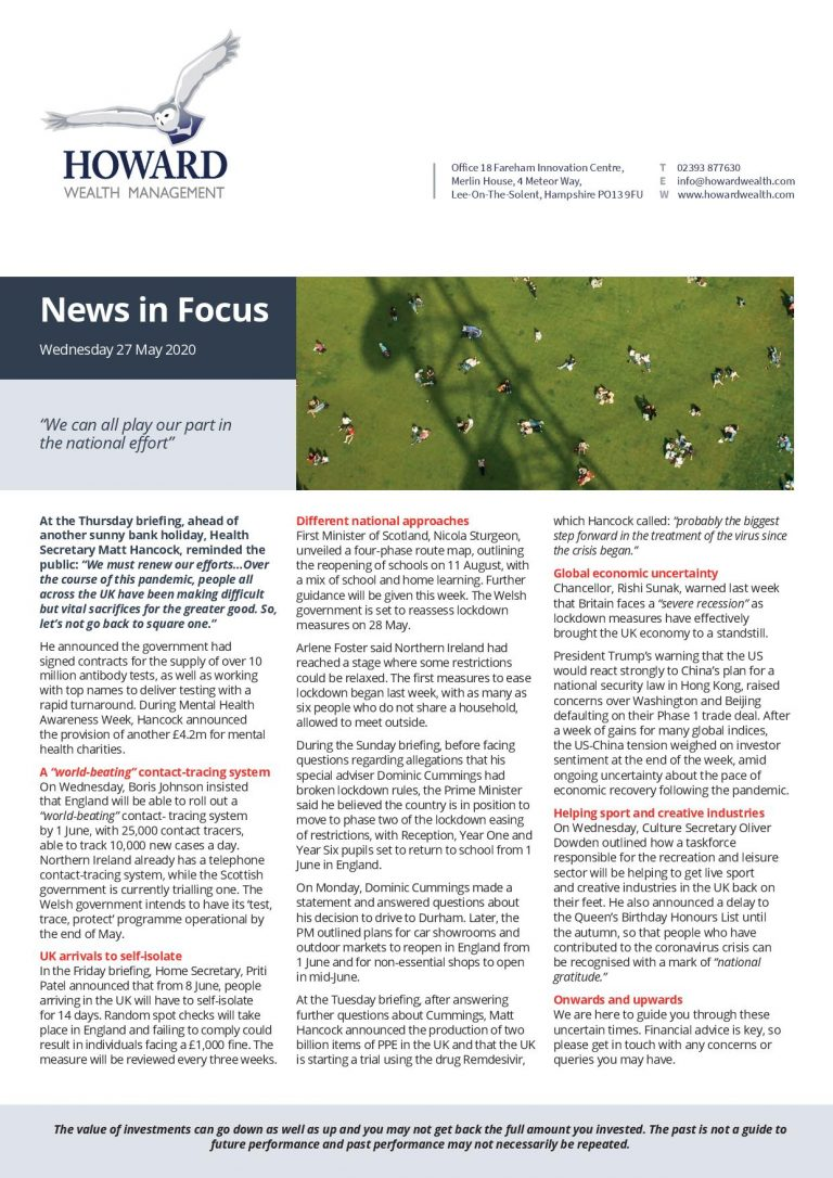 News in Focus 27th May 2020 page 001