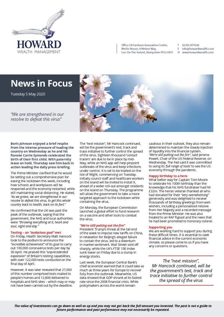 News in Focus 5th May 2020 page 001