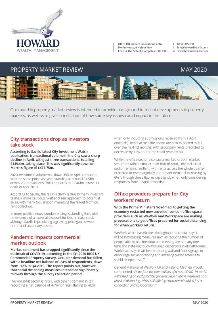Property Market Review May 2020 page 001