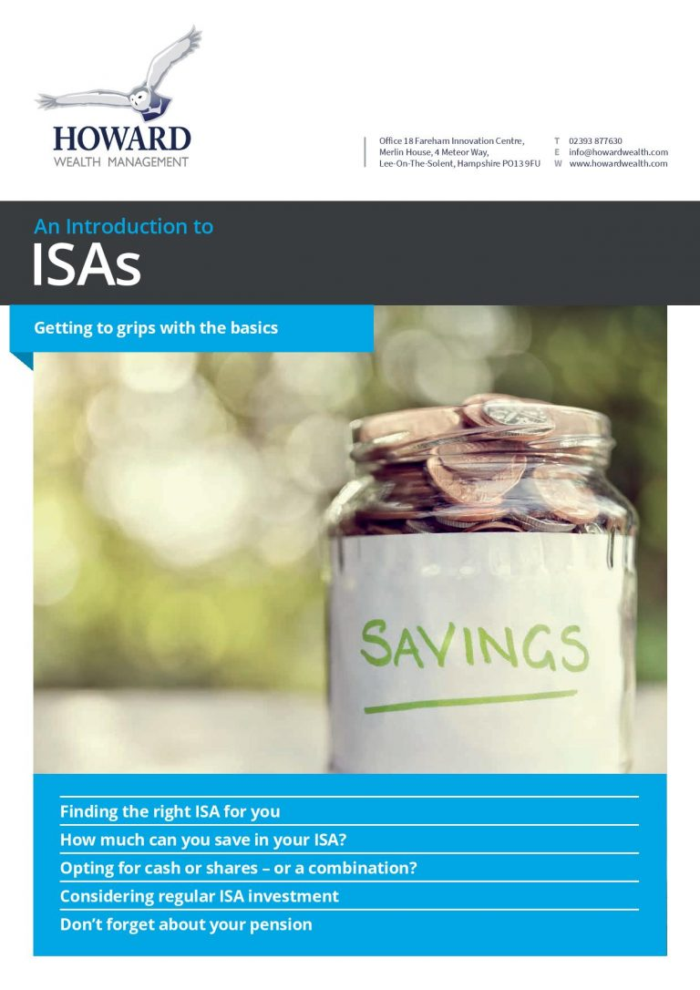 Guide to ISAs page 001