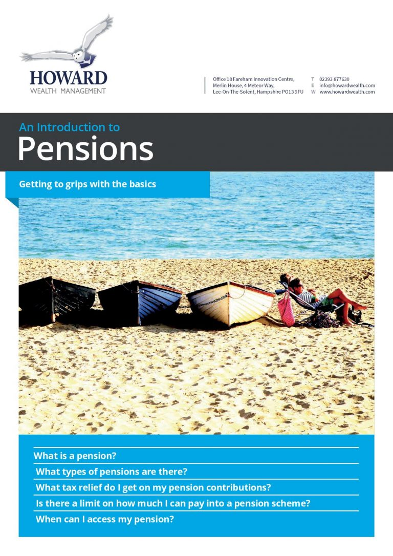 Guide to Pensions page 001