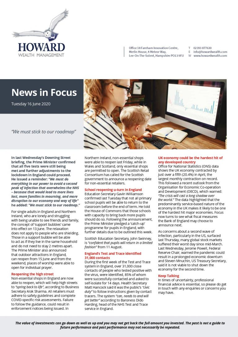 News In Focus 16th June 2020 page 001