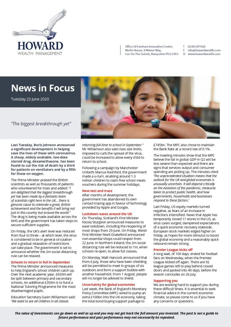 News In Focus 23rd June 2020 page 001