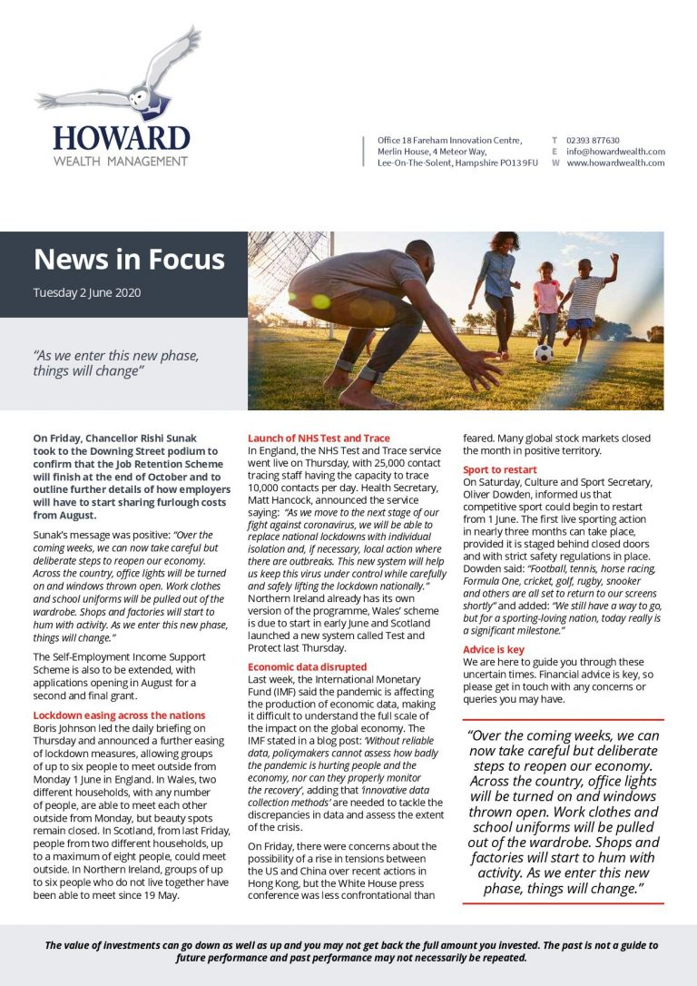News in Focus 2nd June 2020 page 001