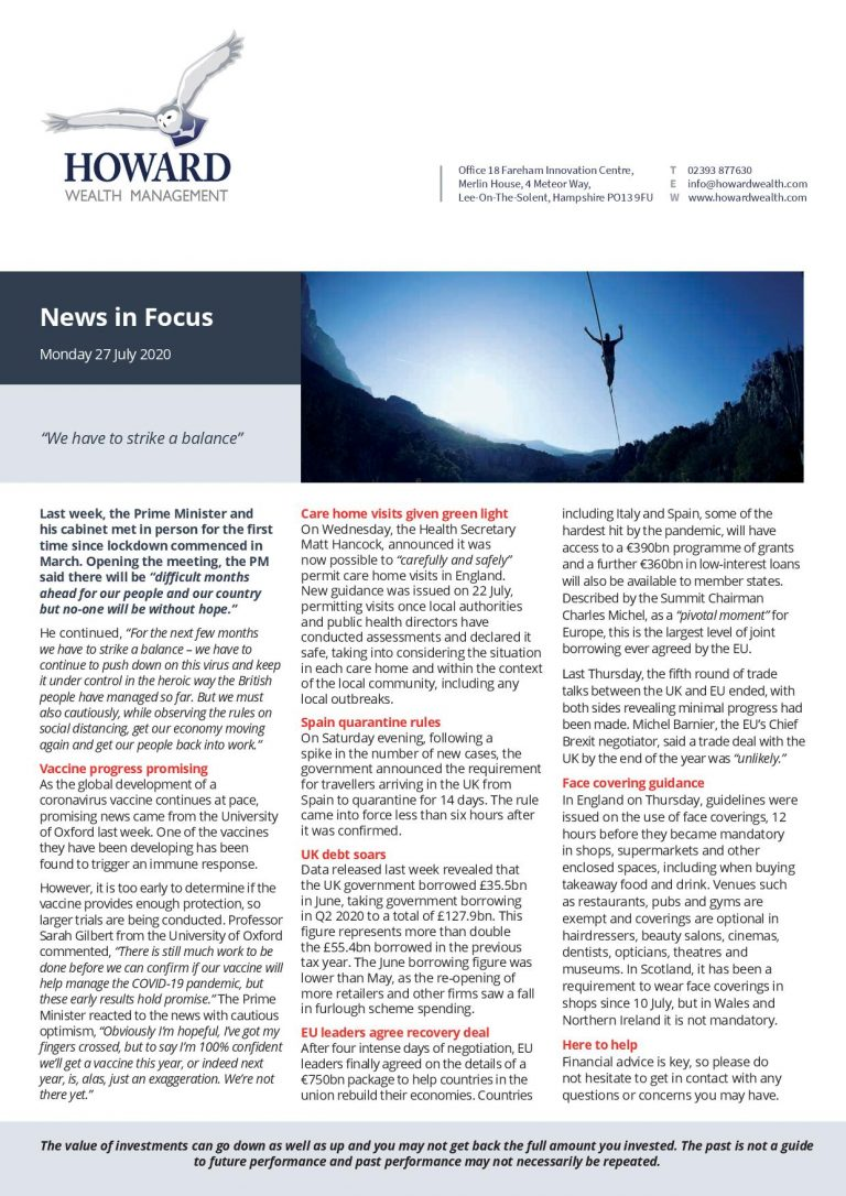 News in Focus 27th July 2020 page 001