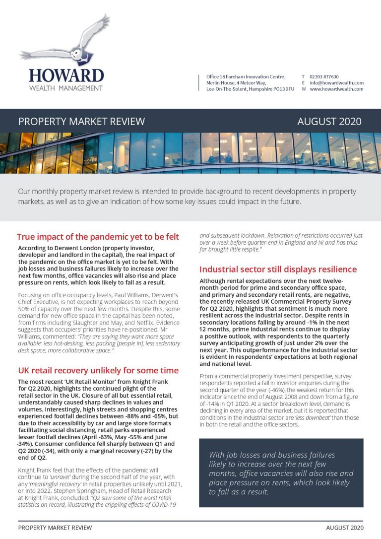 Property Market Review August 2020 page 001
