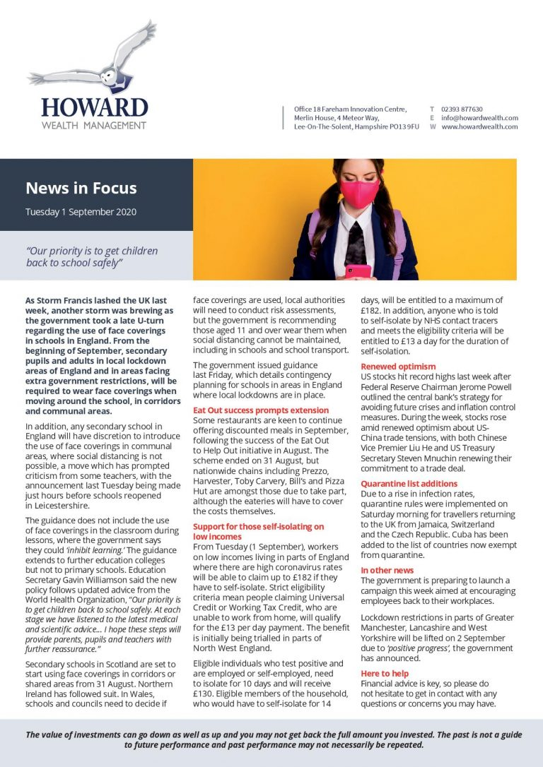 News in Focus 1st September 2020 page 001