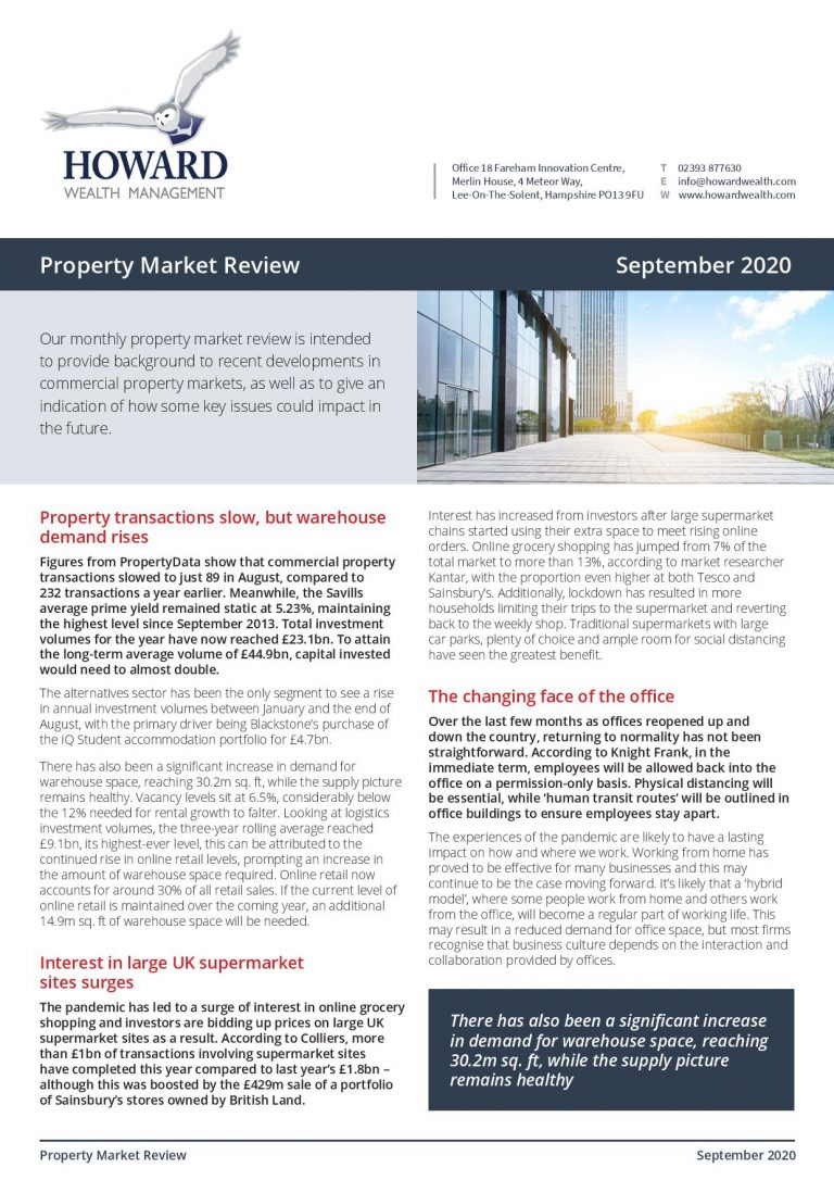 Property Market Review September 2020 page 001