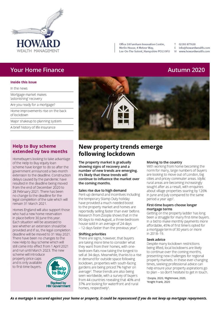 Your Home Finance Autumn 2020 page 001
