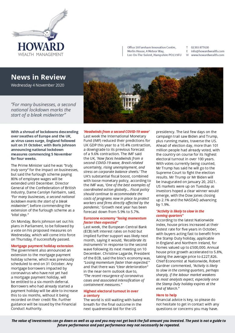 News in Review 4th November 2020 page 001