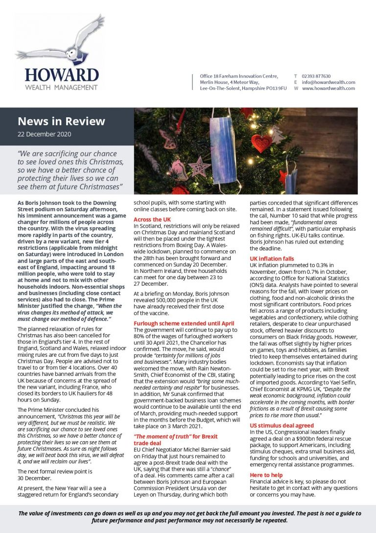 News in Review 22nd December 2020 page 001